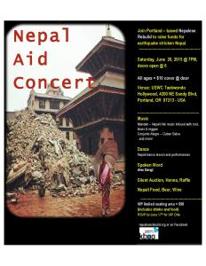 Flyer for Nepal Aid - June 20  - 2015 Final-page-001